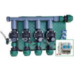 Zavlažovacia sústava uzla vodného zdroja bez filtrácie s X2-CORE riadiacou jednotkou