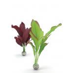 biOrb Silk Plant set zelená a fialová 29 cm