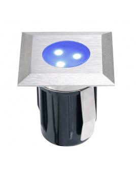 Atria samostatné svietidlo, nerez 316, d=30mm LED 0,5W modrá IP68