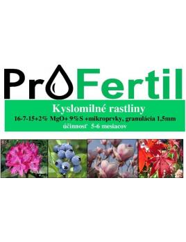 2,5 kg ProFertil  pre kyslomilné rastliny