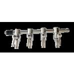 Štvorcestný ventil 4mm