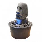MOAI 80/90 - sklobetónová fontána exteriér