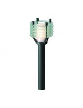 Larix samostatné svietidlo, antracit, T10 2W teplá biela