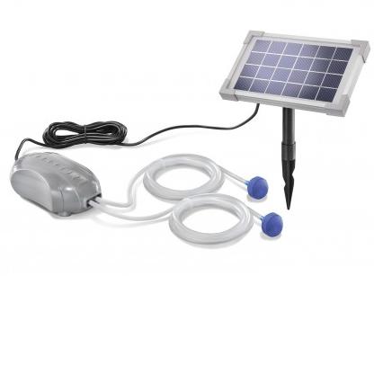 solarny okyslicovac na jazierko