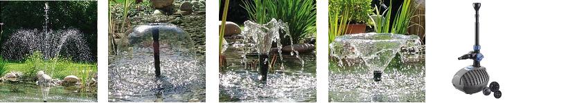 fontánkové čerpadlá do jazierka