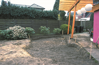 Tvarovanie záhradného jazierka